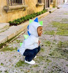 Dino Hoodie CHILD Customized Dinosaur Jacket by ElleDeeDesign, $30.00