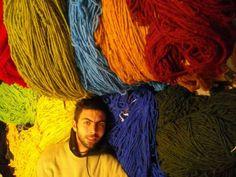 Hello in my rugs studio. Khenifra_Morocco & Bordeaux _France