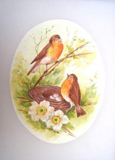 Pássaros sobre seda.