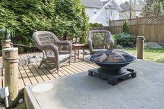 Beautiful back yard at my listing in White Rock Surrey!