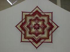 Mandalas Olho de Deus: Mandalas da Exposição no Encontro de Yoga - Sesc Santo André