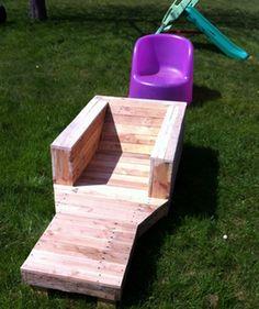 Bricolage : Creer du mobilier de jardin avec des palettes en bois ...