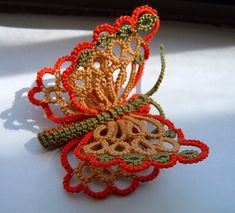 First Needle Tatting Patterns | The next three days were spent learning tatting. We started with three ...