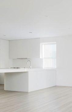 #architecture #design #interior design #white #kitchen #style #minimalism- Private Residence by Garcia Tamjidi Architecture Design