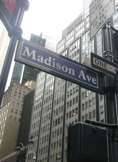 Madison Avenue, NYC