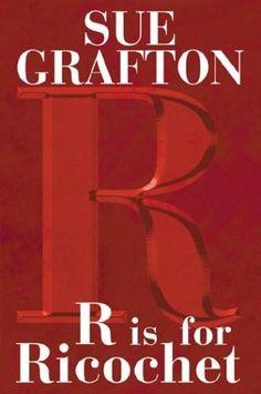Book 107 - R is for Ricochet by Sue Grafton #emptyshelf
