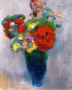 The Athenaeum - Bouquet of Flowers (Odilon Redon - )