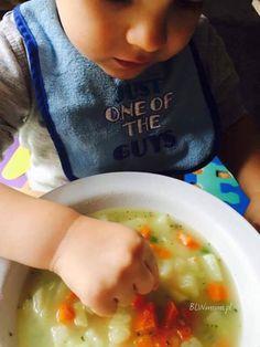 Polski klasyk, który często u nas gości. To jedna z łatwiejszych zup. Lubicie?  Dla kogo? Do roku ...
