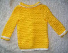 Ladybug Spring Jacket Crochet Easter by AlwaysPrettyInPink