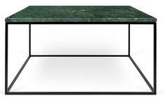 Gleam+Sofabord+-+Grøn+-+75+cm+-+Flot+sofabord+i+grøn+marmor+med+et+sort+stålstel.+Sofabordet+er+designet+af+Temahome+og+har+et+elegant+udtryk,+der+med+sikkerhed+vil+passe+ind+i+de+fleste+danske+hjem.