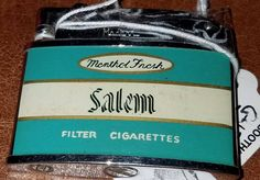 FOR SALE vintage Salem cigarette pipe cigar advertisement lighter by PetiesPorch on Etsy
