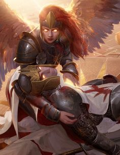 Chance For Glory Ooh snap, looks like I might've painted the doom of many a Ravnica player. Game-breaking card or not? Chance For Glory MtG: Guilds Of Ravnica AD: Cynthia Sheppard Bram Sels Fantasy Races, High Fantasy, Medieval Fantasy, Dark Fantasy Art, Fantasy Artwork, Fantasy Inspiration, Character Design Inspiration, Dnd Characters, Fantasy Characters
