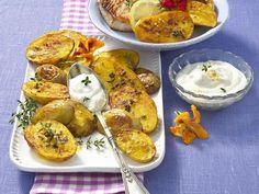 Neue Kartoffeln - köstlich kombiniert! - gewuerzkartoffeln-blech