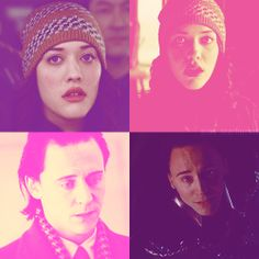 Darcy Lewis & Loki in Pink♥