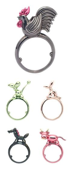 TheCarrotbox.com modern jewellery blog : obsessed with rings // feed your fingers!: Lauren X Khoo