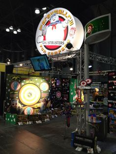 Booth #143 is set up for this years Toy Fair in New York! Let the fun begin tomorrow! #toyfair2014