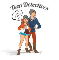 cartoon teen detectives | Teendetectives by t-r on deviantART