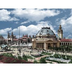 1901 Pan American Expo - Ethnology (Colorized)