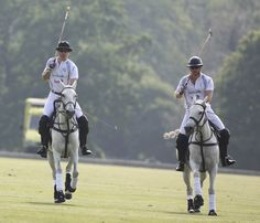 Pin for Later: Swoon Over These Hot Photos of Prince William and Prince Harry Playing Polo