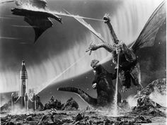 Godzilla vs. King Ghidora and Rodan, do you ever notice that sometimes Rodan can be an ally to Godzilla and then turn on him in the next movie...LOL.