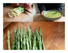 Creamy Asparagus and Leek Bisque. Soup Recipe. Asparagus is detoxifying, anti-aging, anti-inflammatory and is also considered to be an aphrodisiac! Paired with leeks, an antiseptic vegetable packed with natural fiber, calcium, potassium and vitamin C, this soup is perfect for the transition from winter into spring.