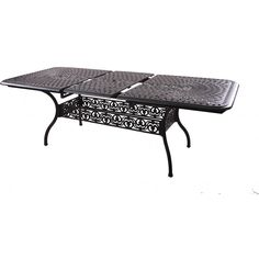 Darlee Series 60 Rectangular Extension Patio Dining Table