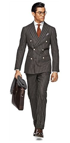 A suit I can get behind, Grey Stripe Soho from Suitsupply