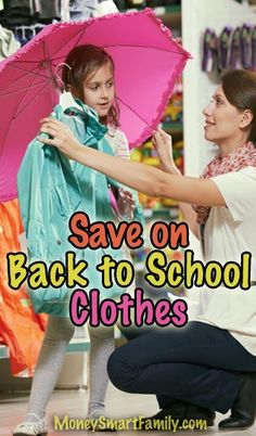 BacktoSchool Clothes 5 Frugal Fashion Tips for Kids This Year! is part of School Clothes Tips - BacktoSchool Clothes 6 Frugal Fashion Tips for Kids talks about a clothing inventory, a shopping list, buying used, starting early & expensive tastes Back To School Shopping, Back To School Outfits, Money Saving Tips, Money Tips, School Clothing, Mom Advice, Budgeting Tips, What Is Life About, Parenting Hacks