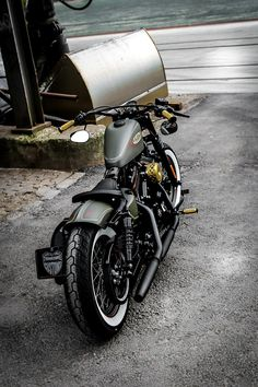 classic motorcycles Thunderbike Forester H-D Forty-Eight Sportster Umbau Harley Davidson Sportster 1200, Harley Davidson Iron 883, Custom Sportster, Harley Bobber, Harley Bikes, Harley Davidson Motorcycles, Triumph Motorcycles, Custom Motorcycles, Bobber Bikes