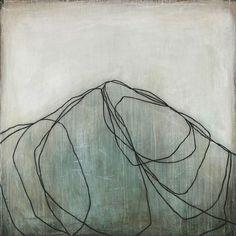 Blue Mountain II by Karine Léger