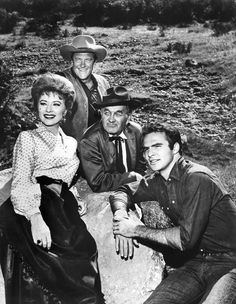GUNSMOKE...while Burt Reynolds was part of the cast.