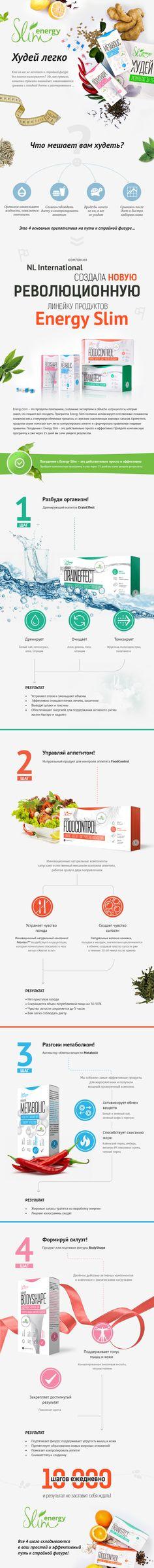 Презентация Energy Slim - Продукты для похудения - Магазин - Официальный интернет-магазин NL International