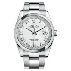 Rolex Oyster Perpetual Datejust 36 acier romain 116200-0055