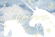 Free for a limited time!  Unicorns - set 2. by Gluiki on @creativemarket  patterns, seamless, graphic, design, ad, affiliate