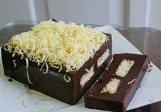 Puding Brownis Coklat