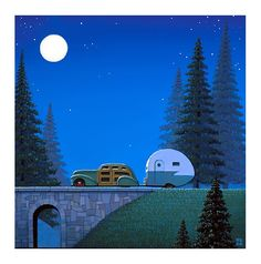 """Pines"" by Robert LaDuke, Leslie Levy Fine Art, AZ"