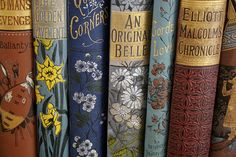pretty vintage books