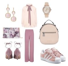 """""""Romantic Sunday mood"""" by mercedesztrum on Polyvore featuring Topshop, See by Chloé, Valentino, adidas Originals, Ted Baker, Armani Jeans, Michael Kors and Rivka Friedman"""