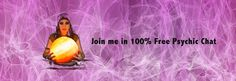"""Online Psychic Chat Rooms; 100% Free - No Credit Card Required"""