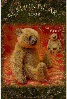 Fenn, Miniature Artist Bear by Aerlinn bears