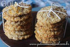 Receita de Cookies de Coco Diet