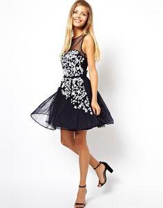 Image 4 ofASOS Embellished Floral Dress