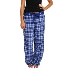 Duke Blue Devils Ladies Revelation Flannel Pants - Duke Blue
