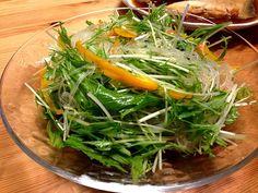 レシピはプロフィールのDE-OILブログをどうぞ - 5件のもぐもぐ - 春雨と水菜のサラダ by deoil518