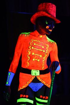 14.3M - intergalactic circus ringmaster costume body paint - Google Search
