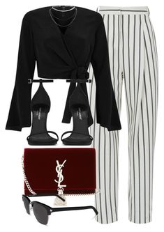 """""""#14736"""" by vany-alvarado ❤ liked on Polyvore featuring TIBI, River Island and Yves Saint Laurent"""