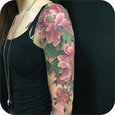 Sleeve tattoos for women, real tattoo, get a tattoo, tattoo japanese style, Flower Tattoo Sleeve Men, Flower Tattoo On Side, Flower Tattoo Shoulder, Sleeve Tattoos For Women, Flower Tattoo Meanings, Flower Tattoo Designs, Flower Tattoos, Tattoo Japanese Style, Japanese Tattoos