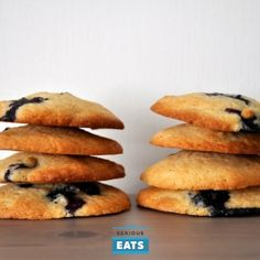 These easy blueberry cookies are also the best: light as air with crispy exteriors and soft, fruit-filled middles.