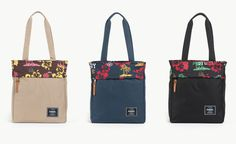 Stussy & Herschel Supply Co. Present: The Aloha Collection   #stussy #herschelsupplyco #totebags