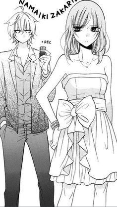 Namaikizakari Manga - Yuki Machida ❤️ Shou Naruse Manga Couple, Anime Love Couple, Anime Couples Manga, Manga Anime, Manga Love, Manga To Read, Naruse Shou, Tsubaki Chou Lonely Planet, Deidara Wallpaper